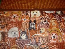 Embroidered Personalized STANDARD Pillowcase Puppies