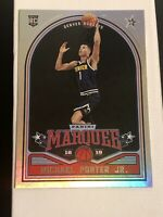 2018-19 Panini Chronicles #251 Michael Porter Jr. Marquee RC Rookie READ