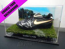 ✺Signed✺ GARRY LYON Football Boot PROOF COA Melbourne Demons 2019 Guernsey