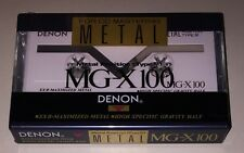 ONE (1) NEW Denon MG-X 100 min super metal bias Tape for Cassette deck