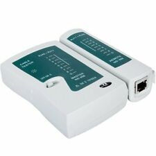RJ45 RJ11 Cat5e Cat6 Network Lan Cable Tester Test Tool Brand New Free Shipping
