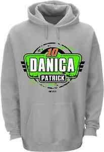 Danica Patrick 2015 Checkered Flag Sports #10 Go Daddy Fan Up Hoodie FREE SHIP!