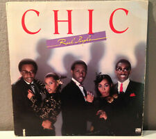 """CHIC - Real People - 12"""" Vinyl Record LP - EX (Nile Rodgers, Bernard Edwards)"""