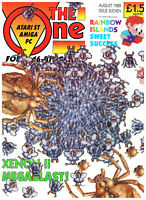 The One - August 1989 - Atari ST Amiga PC - Issue Eleven