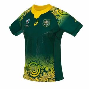 Asics Wallabies RWC19 Away Gameday Jersey Adults Rugby World Cup 2019 men's