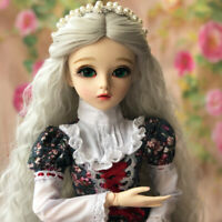 1/3 JD Doll Wigs Toy Shoes Makeup Beauty 60cm BJD Puppen With Clothes FULL SET