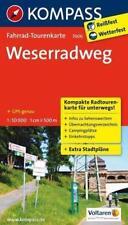 Weserradweg (2013, Karte)