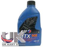 elf HTX 909 Sintético Premezcla ACEITE DE CARRERAS 1l IAME X30 UK Kart Store