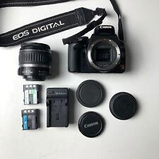 Canon Rebel XTi DSLR Camera, EF 18-55mm Lens TESTED