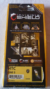 Zagg Invisible Shield Screen Protector HTC One S  (1st class p+p)
