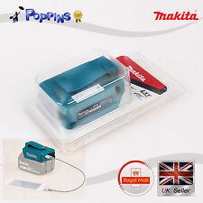 Makita DEAADP05 / ADP05 2 x porta USB caricabatterie per 14,4 v 18v LXT