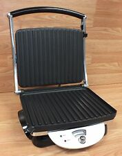 De'Longhi (CGH800) Stainless Steel Nonstick Contact Grill / Panini Press *READ*