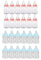 "Baby Milk Bubble Bottle Shower Favor 4.25"" Blue 12 Pcs Party Favors Give Away"