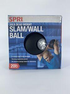 SPRI Slam Wall Ball 20 lbs Dead Weight Exercise Cardio Strength Training