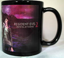 RESIDENT EVIL REVELATIONS 2 - Coffee MUG - CUP - Barry Burton - Claire Redfield