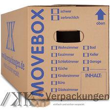 30 Profi Umzugskartons Umzug Karton 2-wellig 40kg Umzugskisten Movebox
