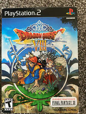 Dragon Quest VIII: Journey of the Cursed King (Inside DVD Box Sealed) ps2