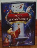 MERLIN EL ENCANTADOR DVD CLASICO DISNEY Nº 18  NUEVO PRECINTADO (SIN ABRIR) R2