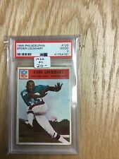 1966 Philadelphia Football Card #125 Spider Lockhart Psa 2 Good