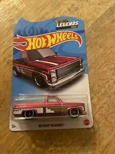 Hot Wheels Legends Tour 83 Chevy Silverado