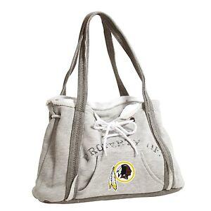 Washington Redskins NFL Football Team Ladies Embroidered Hoodie Purse Handbag