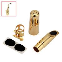 Professional Gold Alto Saxophone Mouthpiece 5C Metal Brass Alto Sax Mouthpiece
