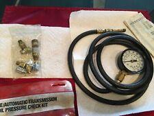 KD Tools/ ENGINE & AUTOMATIC TRANSMISSION OIL PRESSURE CHECK KIT KD 3343