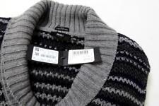 Hugo Boss Black Label Daly Wool Shawl Neck Jumper Grey XXL Eu56