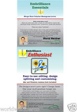 Embrilliance Enthusiast & Essentials Combo Machine Embroidery Software Win & Mac