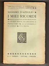 I MIEI RICORDI di Massimo D'Azeglio - Biblioteca Scolastica di Classici Italiani