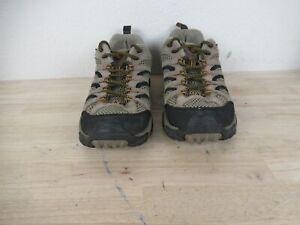 Merrell Mens Moab Ventilator Walnut J86595 Size 9 Brown Vibram Hiking Shoes