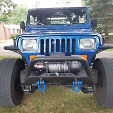 Tuff Stuff® Stubby Front Winch Bumper, 87-06 Jeep Wrangler TJ/YJ