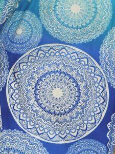 LuLaRoe OS ~ Blue & White Medallion Ombre ~ RARE UNICORN ~ Boho Leggings