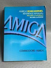 Amiga ROM Kernal Reference Manual ISBN 0-201-18177-0 Commodore   #3558