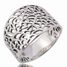 Excellently Thailand Design Ring 925 Sterling Silver Giftsilver Size.UK=X