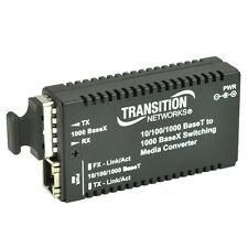Transition Networks Media Converter, M/GE-PSW-SX-01 Gigabit Ethernet 550m SC (Ne