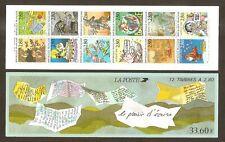 FRANCE 1993 Carnet  BC 2848 PLAISIR D'ECRIRE - NEUF** NON plié MNH