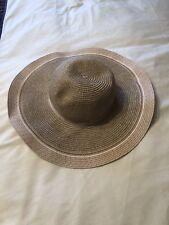 f0dcde7f Floppy Sun Hat, Wicker Style, Light Pink (Dorothy Perkins)
