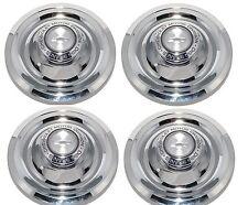 CHEVROLET CORVETTE CAMARO CHEVELLE RALLY Wheel FLAT Disc Brakes Center Cap SET
