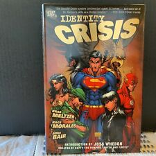 Identity Crisis Brad Meltzer Hard Cover DC Comics Graphic Novel