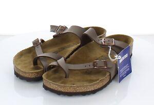 21-38  $100 Women's Sz 39 M Birkenstock Mayari Birko-Flor Hard Footbed Sandal