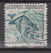 LP 8 luchtpost 8 gestempeld used NVPH Nederland Netherlands airmail