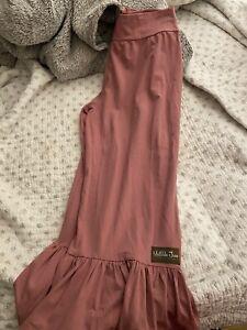 EUC!!! Matilda Jane womens size large l big ruffles bottoms!!!! Mesa Rose!
