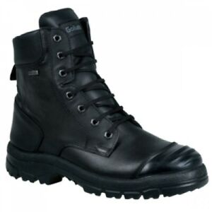WATERPROOF Gore-Tex Safety Boots - Steel Toe & Midsole With Side Zip - Size 7