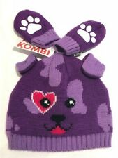 NEW BABY CARTER'S KOMBI BEANIE KNIT HAT & MITTEN SET 0-6 & 6-24 mths NWT