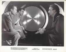 LESLIE NIELSEN WALTER PIDGEON WARREN STEVENS Vintage FORBIDDEN PLANET MGM Photo
