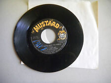 NANCY NASH i'd like to get to know you/we're gonna show the world MUSTARD  45