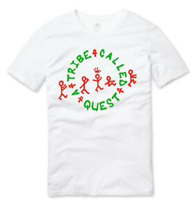 A Tribe Called Quest Old School Hip Hop T Shirt White