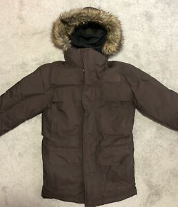The North Face McMurdo Hooded Down Parka III Brownie Brown Men's Size XS X-Small
