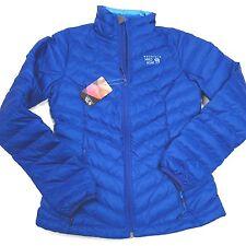 $180 Mountain Hardwear Women's Micratio Women's Down Jacket XS  Blue NWT